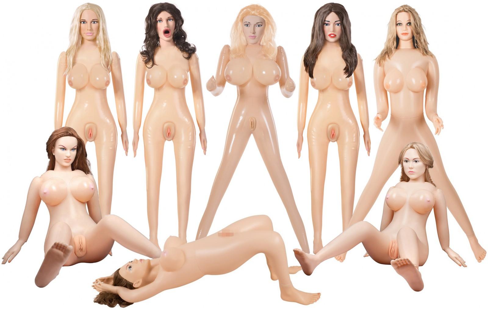 Moderní nafukovací panny - nepoznáte, že jde o erotickou pomůcku