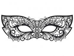 Škrabošky, masky a čelenky