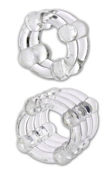 Erekční kroužky na penis a varlata Looping – Nevibrační erekční kroužky
