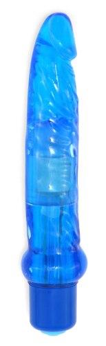 Vibrátory na anální sex: Anální vibrátor Jelly, modrý