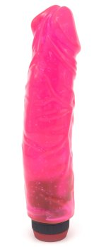 Vibrátor Big Jelly, růžový