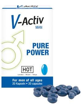 Tablety na lepší erekci V-Activ – Přípravky na zlepšení erekce