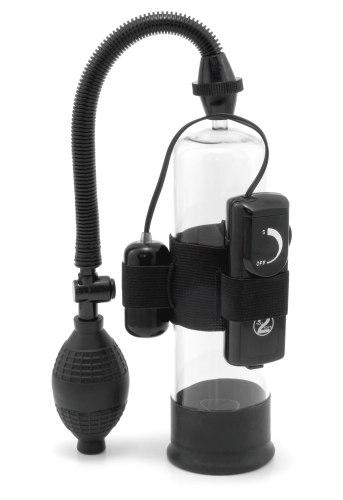 Vakuové pumpy pro muže: Vibrační vakuová pumpa na penis