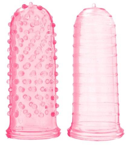 Návleky na prsty, vibrátory, dilda a jiné hračky: Dráždivé návleky na prsty