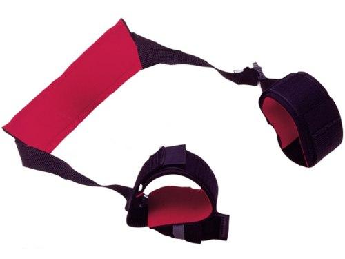 Pouta, lana a pásky na bondage (svazování): Závěs na stehna - kolébka