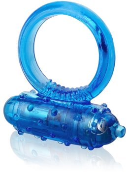Vibrační erekční kroužek Vibro Ring, modrý – Vibrační kroužky na penis