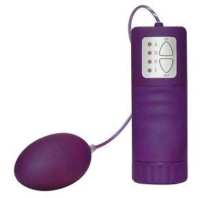 Vibrační vajíčko Velvet, fialové – Vibrační vajíčka