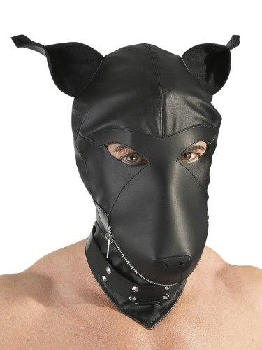 Masky, kukly a šátky: Fetish maska Pes