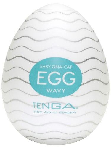 Masturbátory bez vibrací (honítka) - pro muže: Masturbátor TENGA Egg Wavy