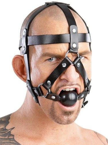 Roubíky: Postroj na hlavu s roubíkem