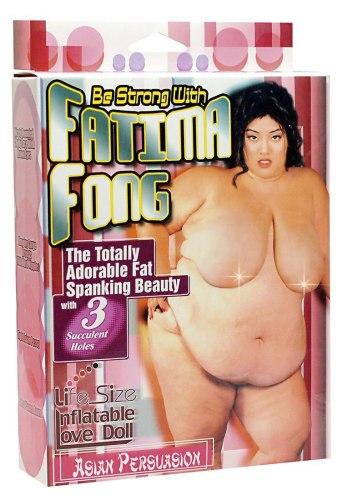 Nafukovací panny pro sex i zábavu: Nafukovací panna Fatima Fong XXL