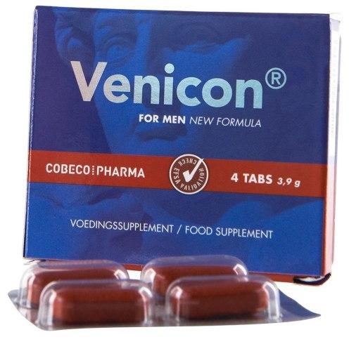 Přípravky na pevnou a dlouhotrvající erekci: Tablety na lepší erekci Venicon