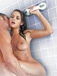 Madlo s přísavkou Sex in the shower