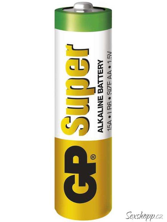 Baterie AA GP Super, alkalická