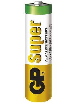 Baterie AA GP Super, alkalická – Baterie do erotických pomůcek, powerbanky