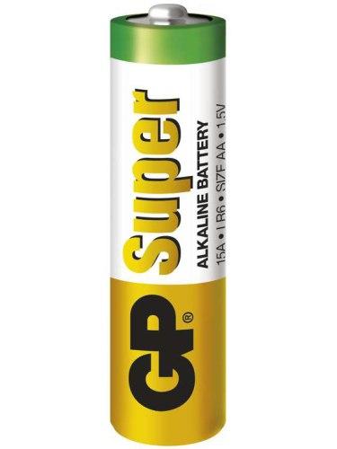 Baterie do erotických pomůcek, powerbanky: Baterie AA GP Super, alkalická