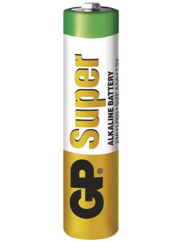 Baterie do erotických pomůcek, powerbanky: Baterie AAA GP Super, alkalická