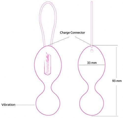 Vibrační venušiny kuličky The Swan Clutch