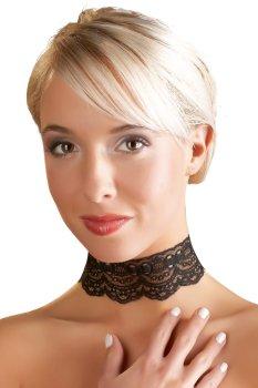 Krajková ozdoba-obojek na krk – Vzrušující intimní šperky, ozdoby a bižuterie