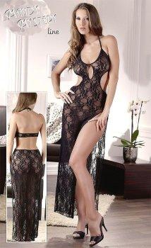 Dlouhé krajkové šaty – Sexy šaty a minišaty
