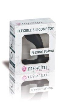 Dildo Flexing Flavio na masáž prostaty a elektrosex