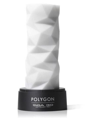 Masturbátory bez vibrací (honítka) - pro muže: Masturbátor TENGA 3D Polygon