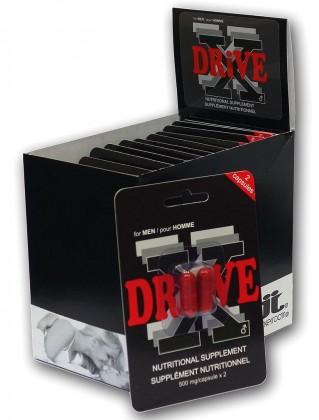 DRIVE X - tablety na okamžité posílení erekce