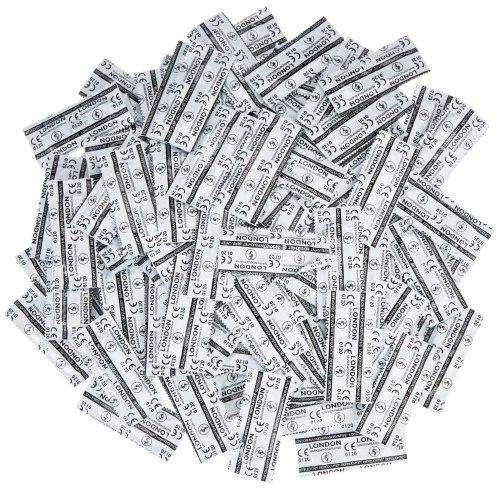 Výhodné balíčky kondomů: Balíček kondomů LONDON 45+5 ks zdarma