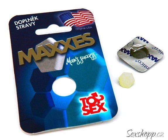 Maxxes Man - tablety na podporu erekce