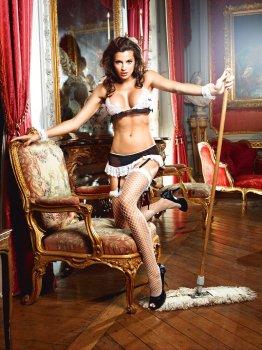 Kostým Francouzská služebná - Do Not Disturb French Maid – Dámské sexy kostýmy pro roleplay