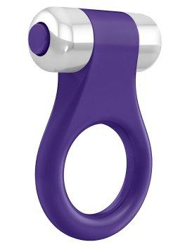 OVO B1 Vibrační erekční kroužek, fialový – Vibrační kroužky na penis