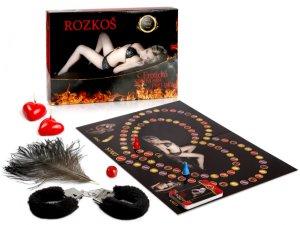 Rozkoš - erotická hra pro dospělé – Erotické společenské hry