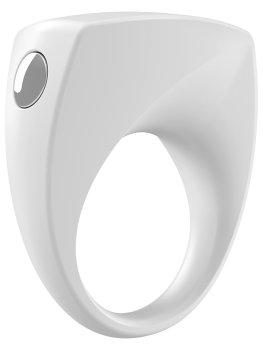 OVO B6 Vibrační erekční kroužek, bílý – Vibrační erekční kroužky