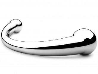 Luxusní kovové dildo Pure Wand - anální i vaginální