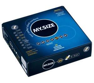 Kondom MY.SIZE 60 mm, 1 kus – XL a XXL kondomy pro velké penisy