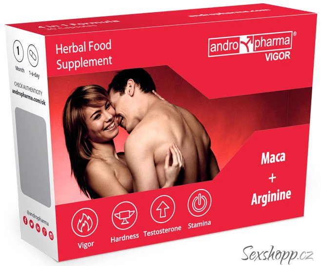 Andropharma Vigor - tablety na kvalitnější erekci