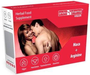 Andropharma Vigor - tablety na pevnější erekci a delší výdrž – Přípravky na zlepšení erekce