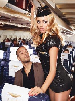 Kostým Sexy letuška - Sexy Stewardess – Dámské sexy kostýmy pro roleplay