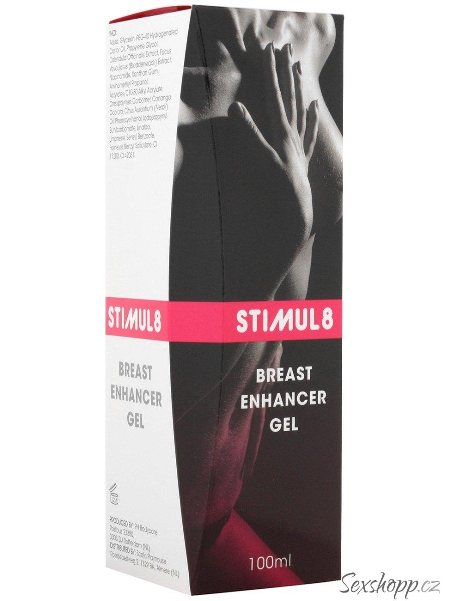 Stimul8 - gel pro zpevnění a zvětšení poprsí