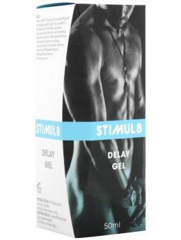 Stimul8 - gel na oddálení ejakulace – Připravky a pomůcky proti předčasné ejakulaci