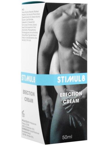 Přípravky na pevnou a dlouhotrvající erekci: Stimul8 - krém na okamžité posílení erekce