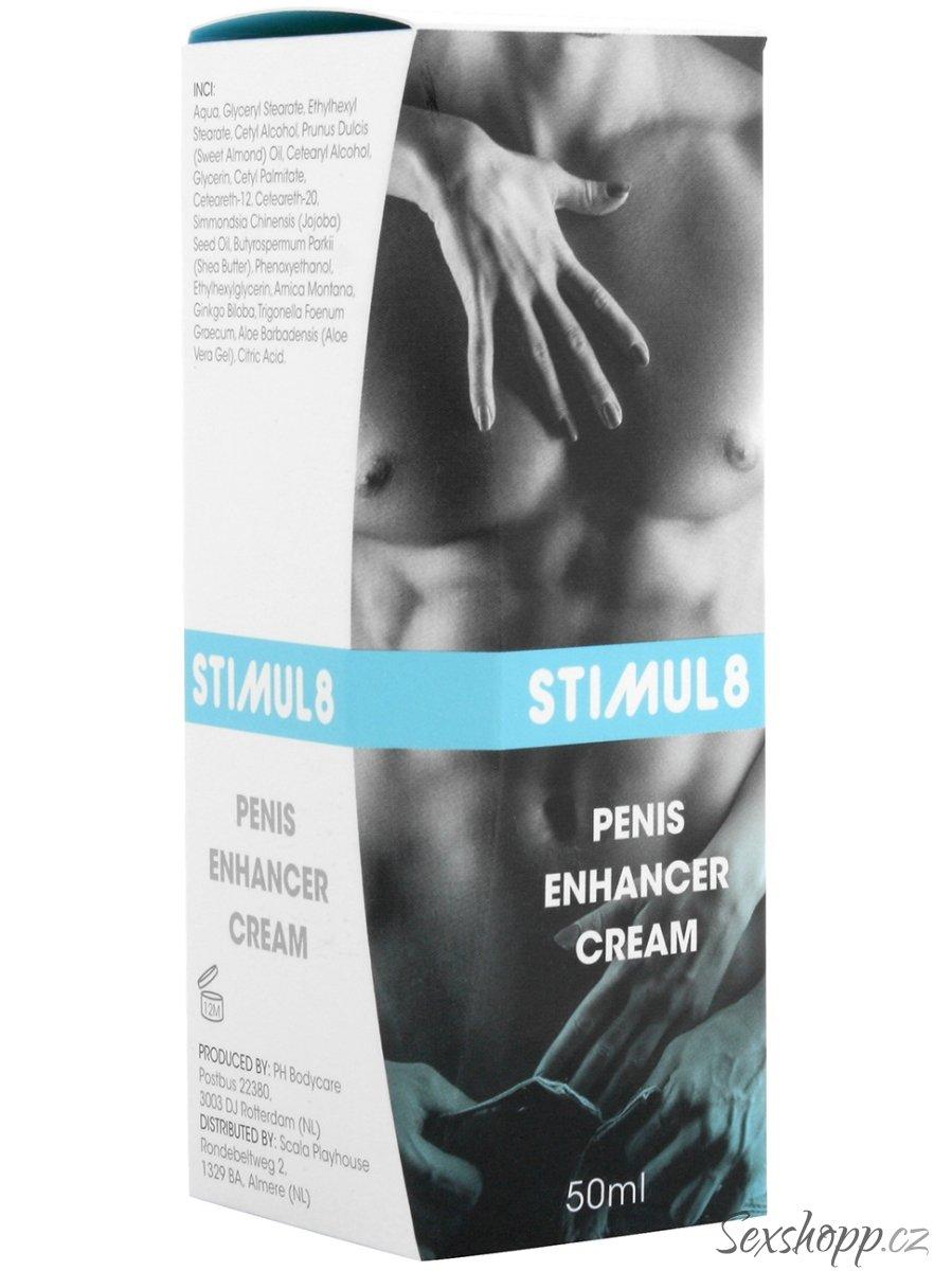 Stimul8 - krém pro dlouhotrvající erekci