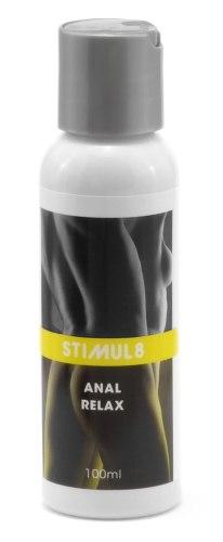 Uvolňující či tlumivé přípravky na anální sex a deepthroat: Stimul8 - gel na uvolnění análního otvoru