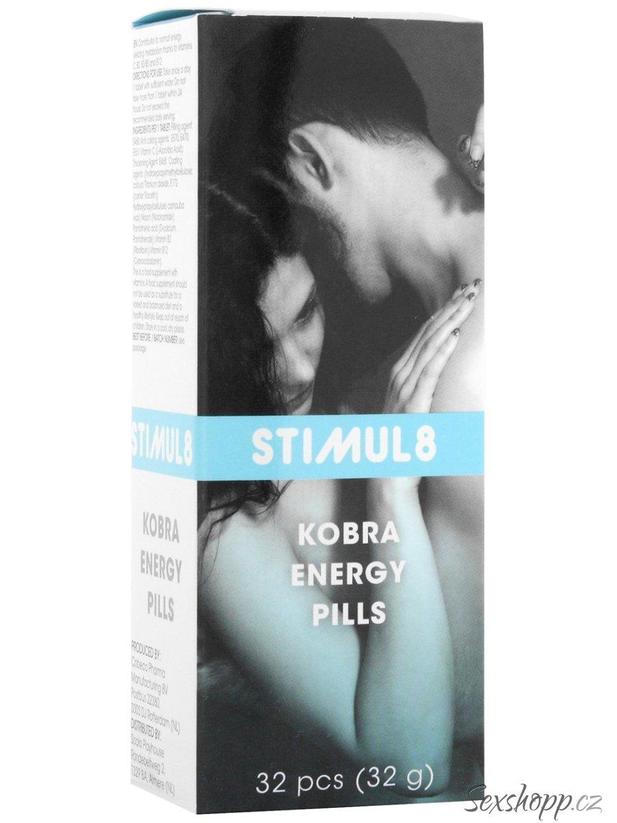 Stimul8 - tablety pro muže na zlepšení sexuální kondice