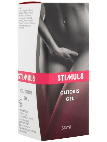 Stimulující krémy a gely pro lepší sex: Stimul8 - gel pro citlivější klitoris a silnější orgasmus
