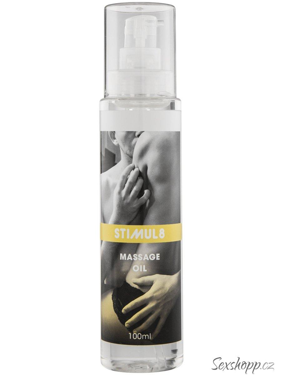 Stimul8 - čistý masážní olej