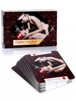 Erotické karty - Vojna s rozkoší – Erotické hry