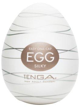 Masturbátor TENGA Egg Silky – Masturbátory TENGA