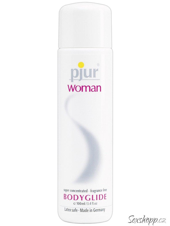 Lubrikační a masážní gel Pjur Woman