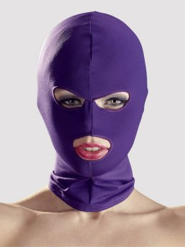 Masky, kukly a šátky: Maska s otvory pro oči a ústa